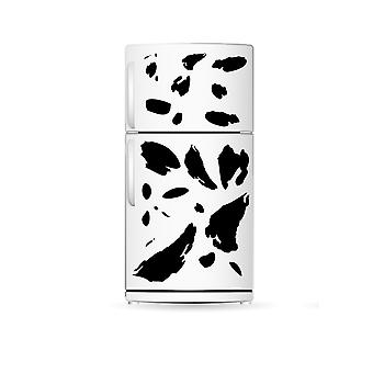 Cow Print Fridge Cupbpoard Kitchen Wall Sticker