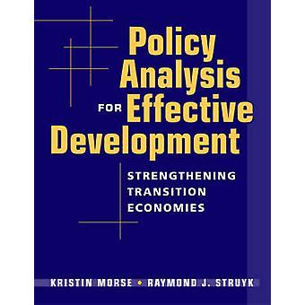 Analyse de la politique de développement efficace - renforcer la Transition E