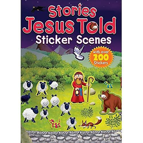 Stories Jesus Told Sticker Scenes
