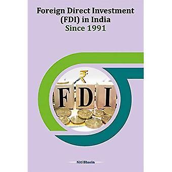 Utländska direktinvesteringar (FDI) i Indien sedan 1991