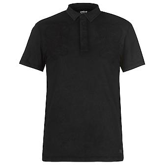 Para hombre Firetrap sello bordado Polo camiseta t-shirt corto manga Top T