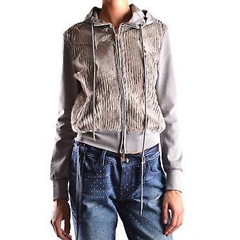Bikkembergs Ezbc101064 Dames's Grey Other Materials Sweatshirt