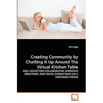 Het creëren van Gemeenschap door het chatten op opwaarts rond de virtuele keukentafel door Higgs & Kim