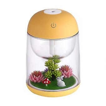 Humidifier Miniature Landscape-Yellow