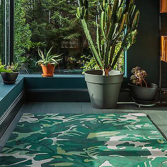 Matrix Palm Max73 Rugs In Green