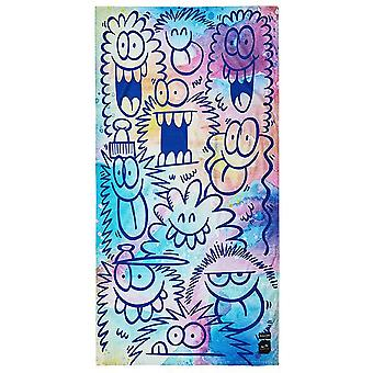 Slowtide Kevin Lyons Beach Brigade Beach Towel in Multi