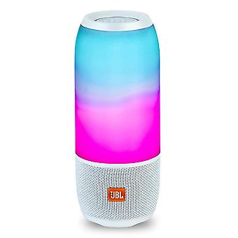JBL Pulse 3 Portable Bluetooth Speaker - White