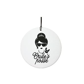 Bride's Posse Car Air Freshener