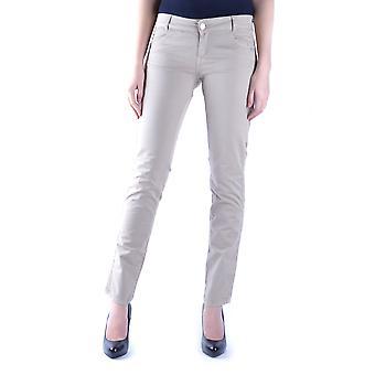 Massimo Rebecchi Ezbc214007 Women's Beige Cotton Pants