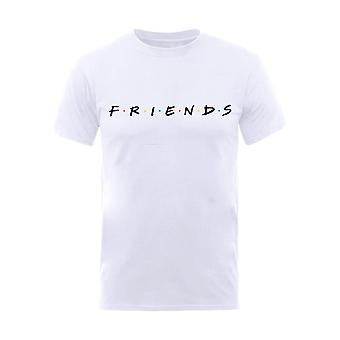 Men's Friends Classic Logo White T-Shirt