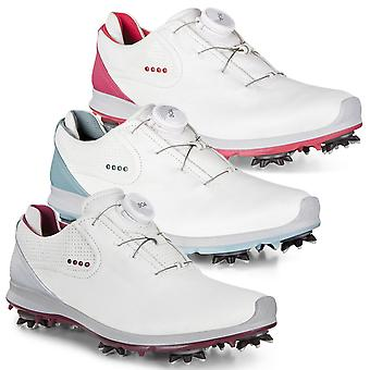 Ecco Womens Biom G 2 BOA Lace-System Spiked Hydromax Leather Golf Shoes