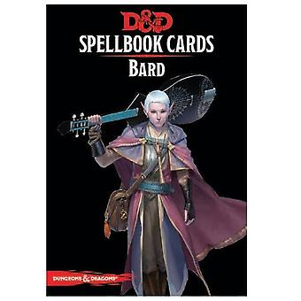 Dungeons and Dragons Bard Spell Deck Revised Board Game