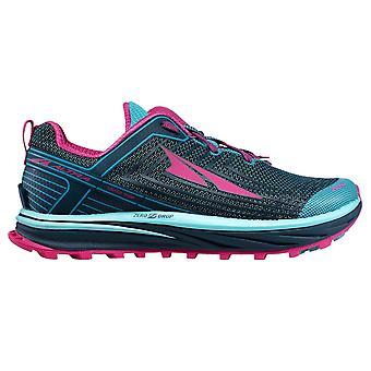 Altra Timp 1.5 Womens Higher Cushioning Zero Drop Trail Running Shoes Blue/raspberry