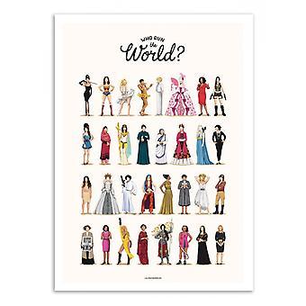 Art-Poster - Corri il mondo - Nour Tohme 70 x 100 cm