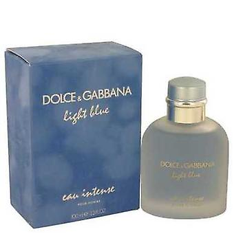 Light Blue Eau Intense By Dolce & Gabbana Eau De Parfum Spray 3.3 Oz (men) V728-539408