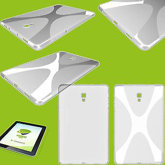 Silicone X-Line Case Case Transparent for Samsung Galaxy Tab A 10.1 2019 T510 T515+ HD Foil