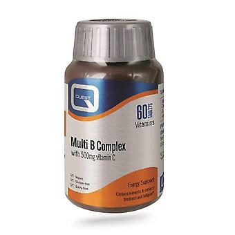 Quest Vitamins Multi B Complex (+ 500mg C) Tabs 60 (601200)