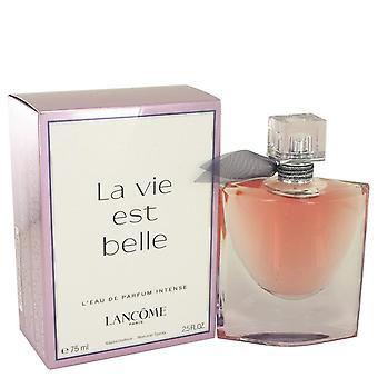La vie est belle l'eau de parfum رذاذ مكثف بواسطة lancome 533616 75 ml