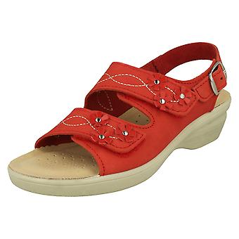 Ladies Padders Hook & Loop Sandals Bluebell