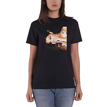 Officielle T Shirt ARIANA GRANDE Black Side Photo Sødestof Album Alle størrelser