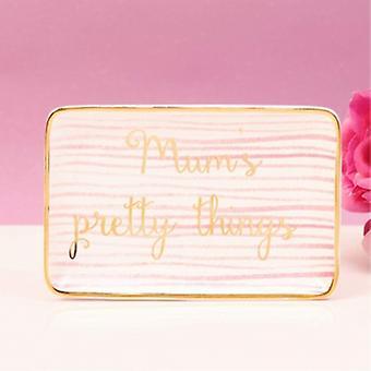 Gisela Graham Flamingo Trinket Tray