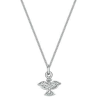 Bella Cubic Zirconia engel hanger-zilver