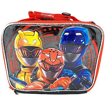 Lunch Bag - Power Rangers - Power Up! Black New 204734