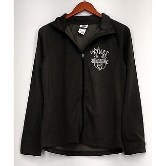 NHLBasic Jacket Zip Front Kings Hockey Dark Gray Womens