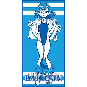 Towel - Certain Scientific Railgun - New Misaka Beach/Bath Anime ge58026