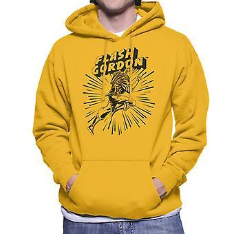 Flash Gordon Action Leap Men's Hooded Sweatshirt