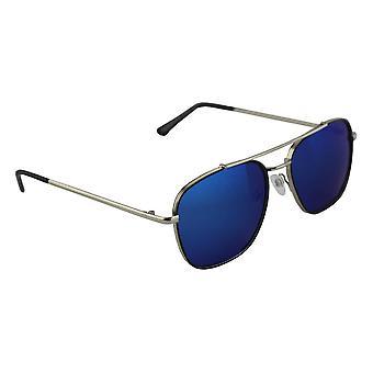 サングラス アビエイター 偏光ガラス シルバー ブルー フリー BrillenkokerS302_6