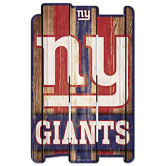 Wincraft PLANK Wood Sign tre skilt-NFL New York Giants