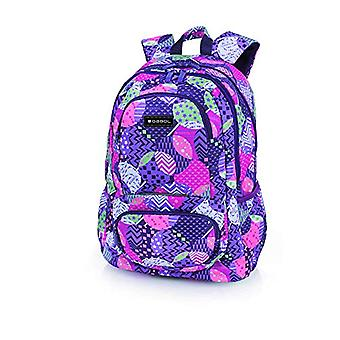 Gabol Mochila Globe 34x46x20cm Children's backpack - 46cm - Blue (Multicolor)