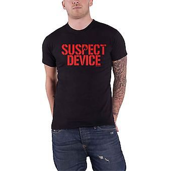 Stiff Little Fingers T Shirt Suspect Device Band Logo new Official Mens Black
