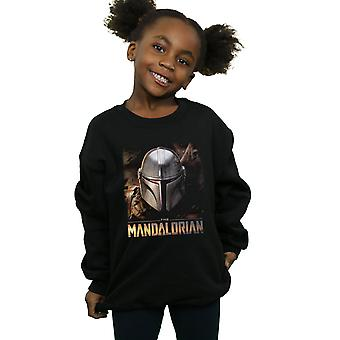 Star Wars Girls Le Casque Mandalorian Sweatshirt
