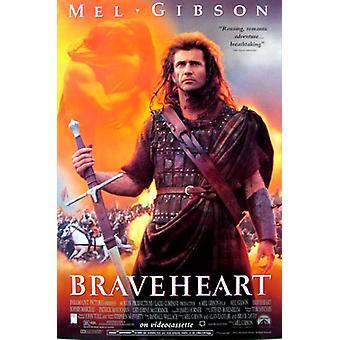 Braveheart (yksipuolinen uudelleentulostus)-julisteiden uudelleentulostaminen