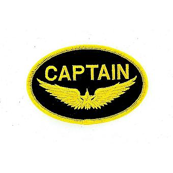 Patch Ecusson Brode Thermocollant Marine Naval Aviation Captain R2 Boat Aircraft