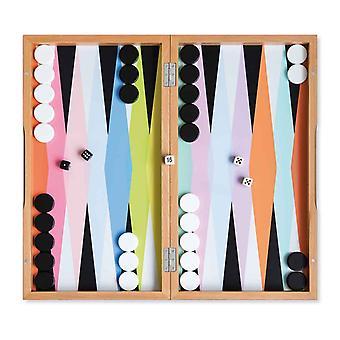 Remember Backgammon 24.5 x 45.5 x 5.5 cm