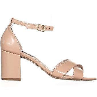 STEVEN by Steve Madden Womens Voomme Leather Open Toe Casual Ankle Strap Sandals