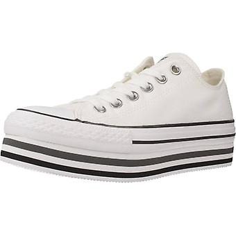 Converse Sport / Double Lift Color White Sneakers