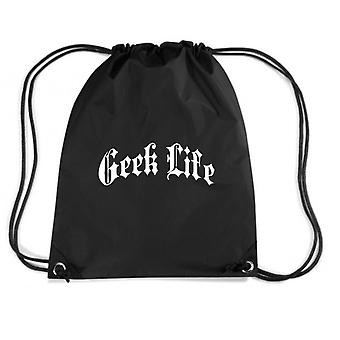 Black backpack fun1551 geek life gothic thug