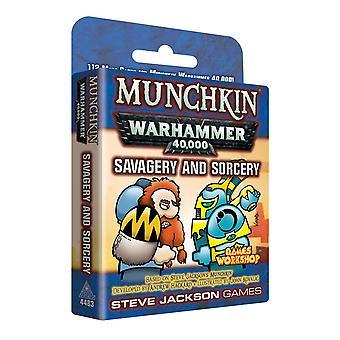 Munchkin Warhammer 40000 savagery en tovenarij