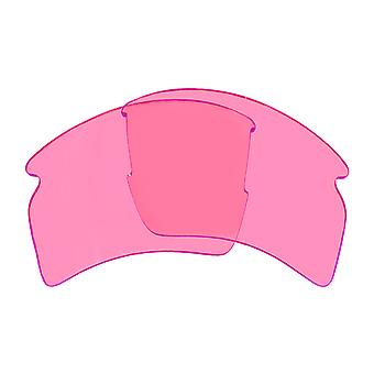 Replacement Lenses for Oakley Flak 2.0 XL Sunglasses Pink Anti-Scratch Anti-Glare UV400 by SeekOptics