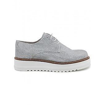 Ana Lublin - zapatos - zapatos con cordones - MIRELA_ARGENTO - mujeres - plata, blanco - 41