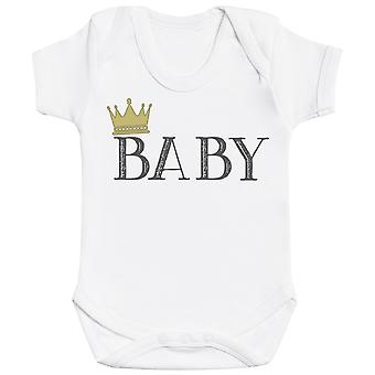 Mother And Baby Crowns - Matching Set - Baby Bodysuit & Mum T-Shirt