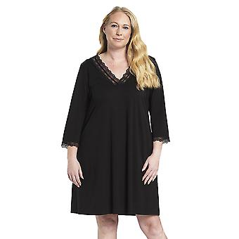 Rösch 1194581-11741 Women's Curve Jet Black Nightdress