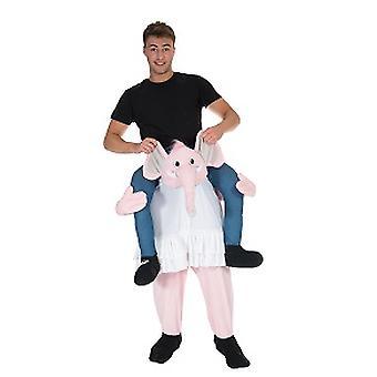 Elefant Huckeppack Trag mich Reiter Kostüm