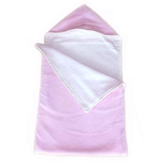 Pastel Pink Fleece Baby Sack (Reversible)