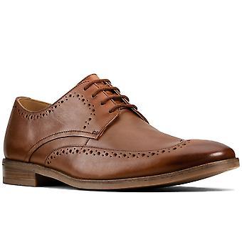 Clarks Stanford Limit Herren gestanzt formal EOxford Schuhe