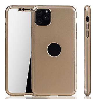 Omena iPhone 11 tapa uksessa puhelimen suojus suoja pussi puskurin Fullcover säiliön suoja lasi kulta